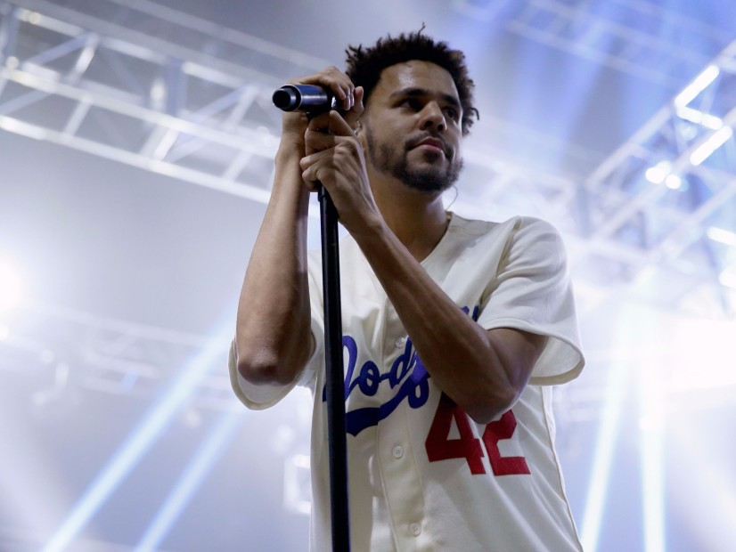 "J. Cole Shouts ""Fuck Donald Trump"" During Denmark Concert"
