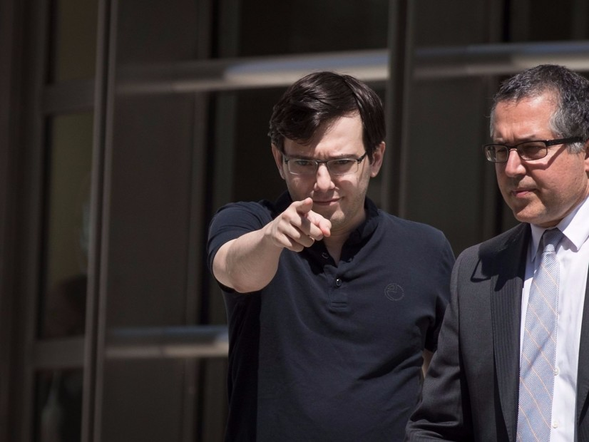 Martin Shkreli's $5M Bail Revoked After New Arrest Involving Hillary Clinton's Hair