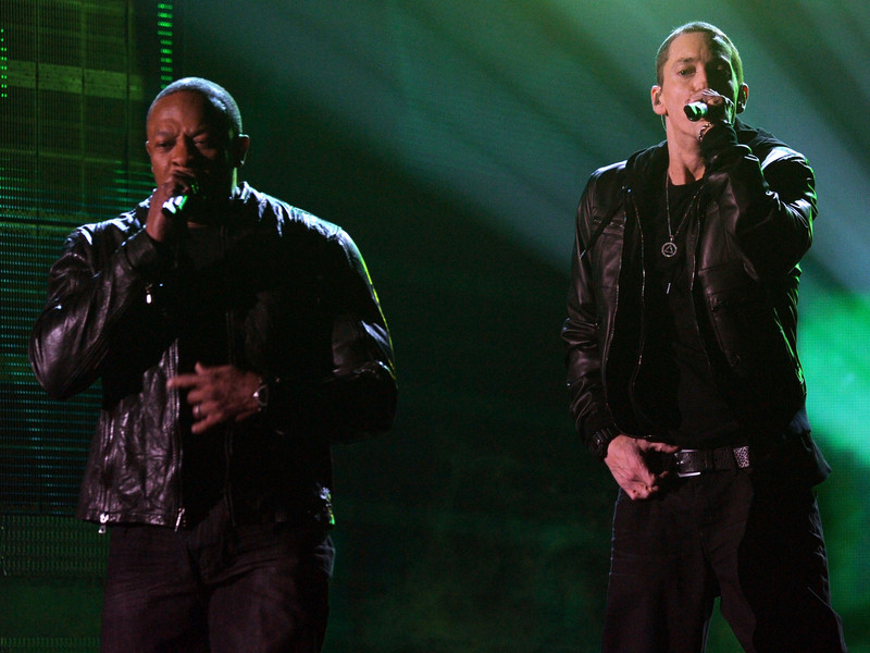 """Eminem & Dr. Dre Reportedly Creating New Music For """"Bodied"""" Soundtrack"""