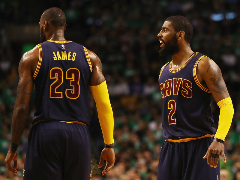 6d66324bb98 Kyrie Irving Breaks Silence On Leaving Cavs While LeBron James Tweets About  2Pac