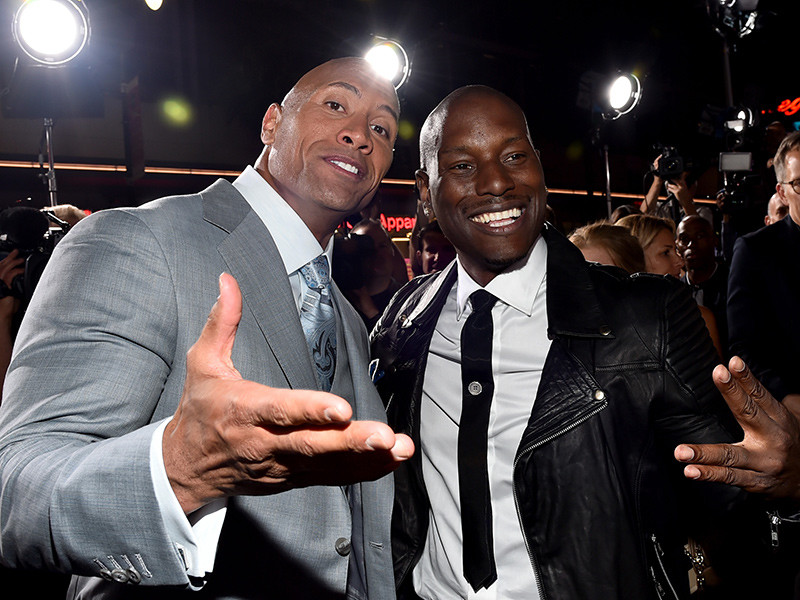 "The Rock Celebrates ""Hobbs & Shaw"" Success While Dumping On Tyrese"