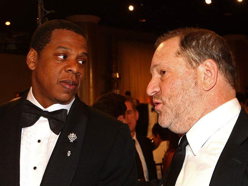 JAY-Z Reportedly Wants To Buy Harvey Weinstein's Stake In The Weinstein Company