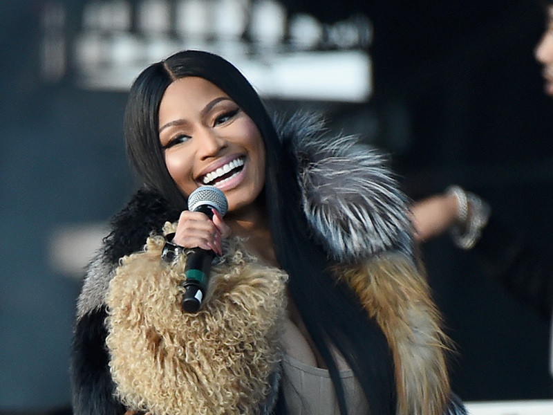 "Nicki Minaj's New Album Is About Being ""Truly, Genuinely Happy"""