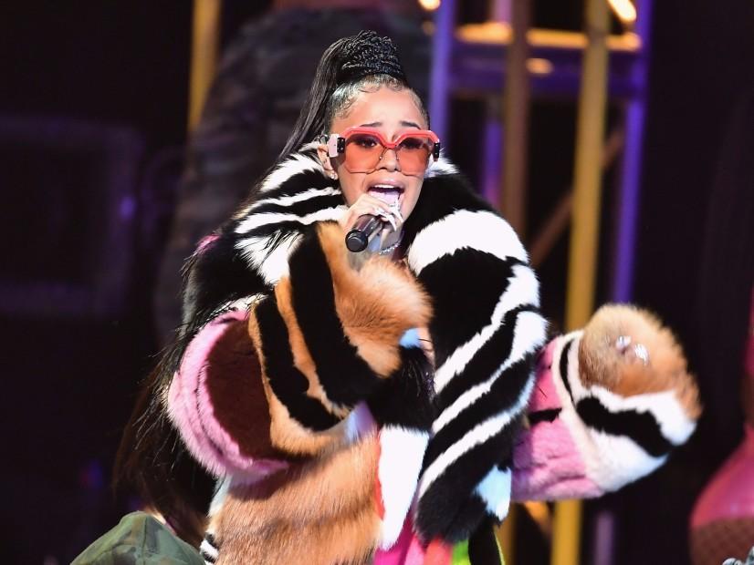 "Cardi B Earns ""Hustler Of The Year"" Honor At 2017 BET Hip Hop Awards"