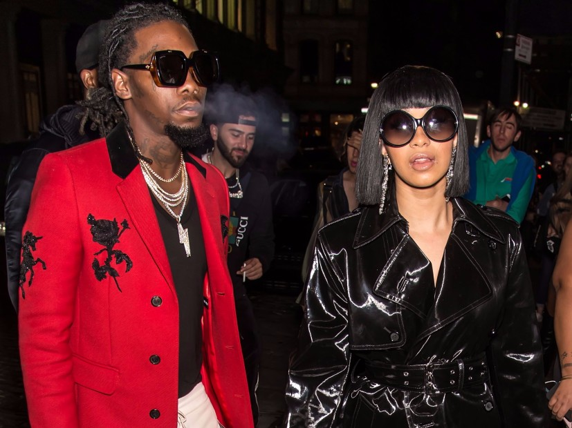 Cardi B Denies She's Back Together With Offset