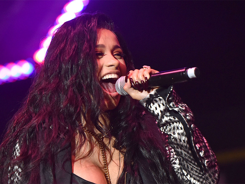 Cardi B Previews New Music On Instagram