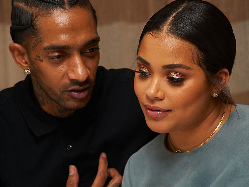 Nipsey Hussle & Lauren London Separate