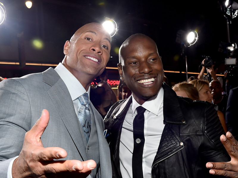 "Tyrese Threatens To Leave ""Fast & Furious"" Franchise If The Rock Returns"