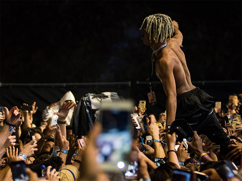 XXXTENTACION Los Angeles Memorial Turns Flash Mob Rowdy