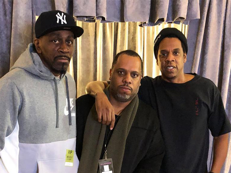 JAY-Z & Jaz-O Pose Together At Chicago 4:44 Tour Stop