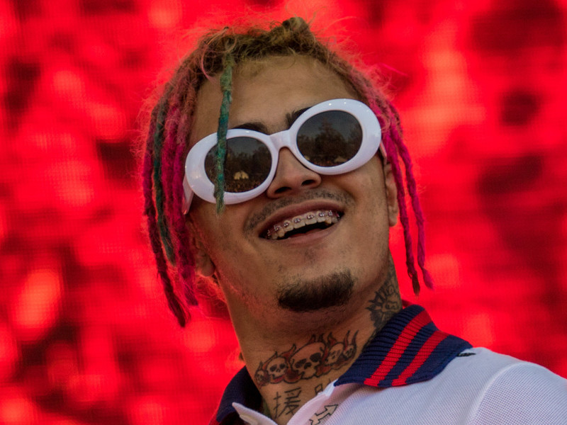 Lil Pump Ready To Throw Down With Fan At Concert
