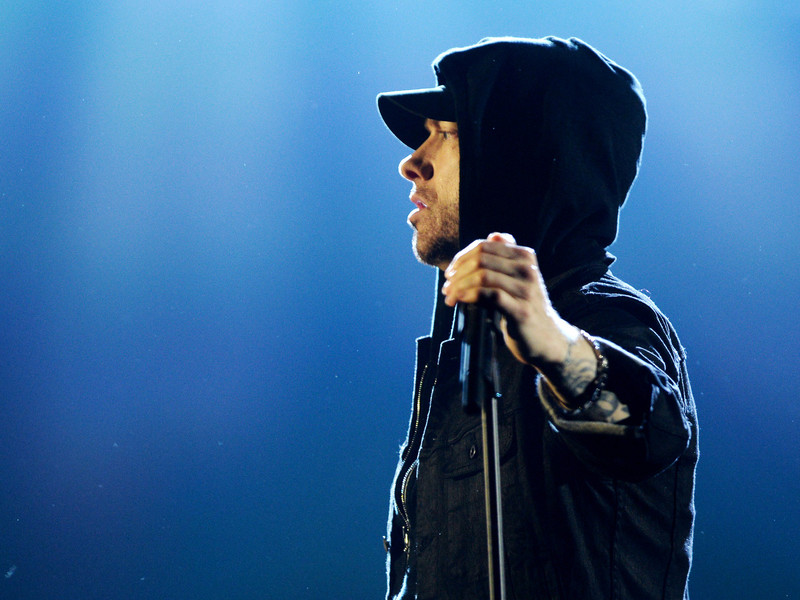 "Eminem Reflects On His B-Rabbit Days With Throwback ""8 Mile"" Photo"