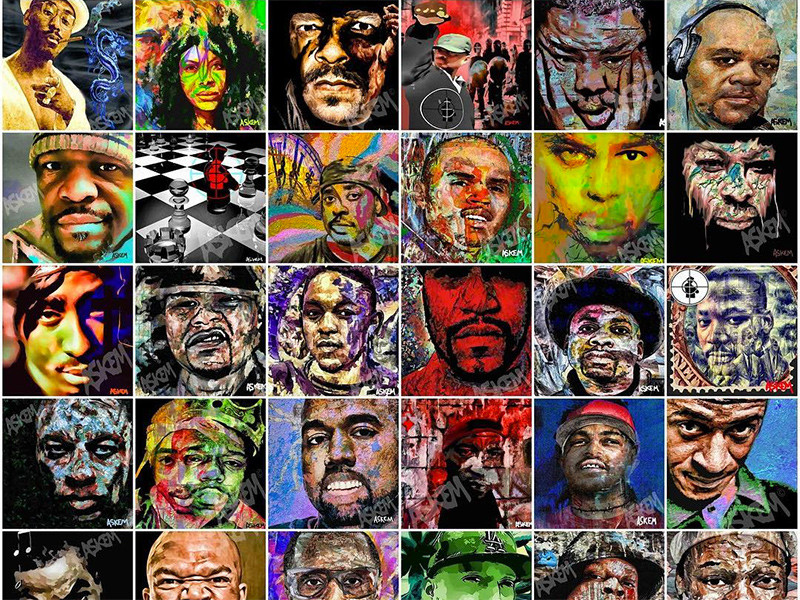 "Visual Artist Martin Askem Talks ""This Day In Rap & Hip Hop History"" Book"