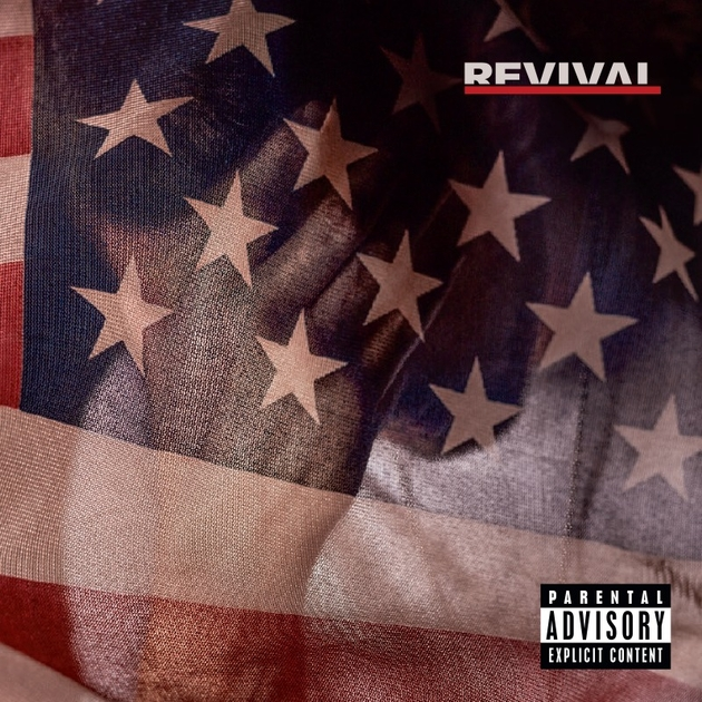 Eminem's Revival cover art