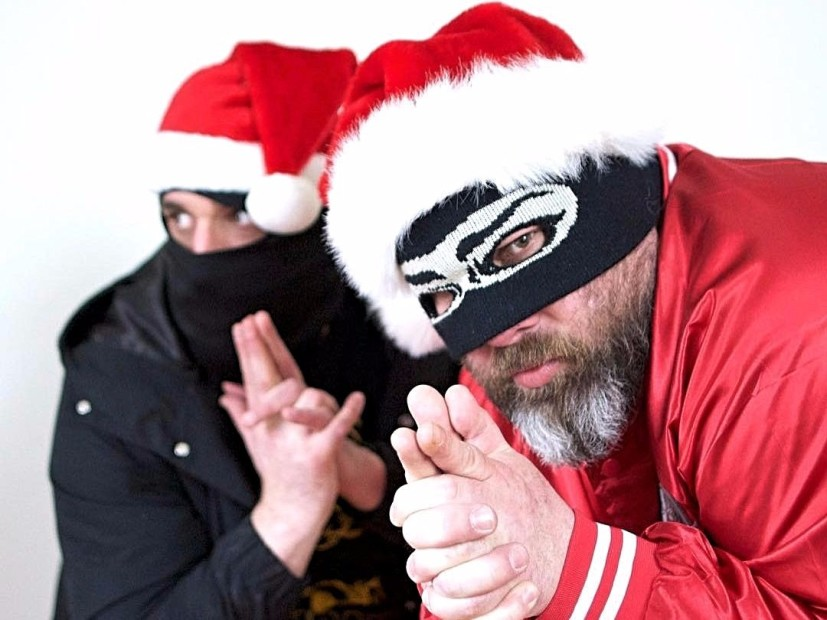 """Sage Francis & B. Dolan Unveil Epic Beard Men Project With """"War On Christmas"""""""