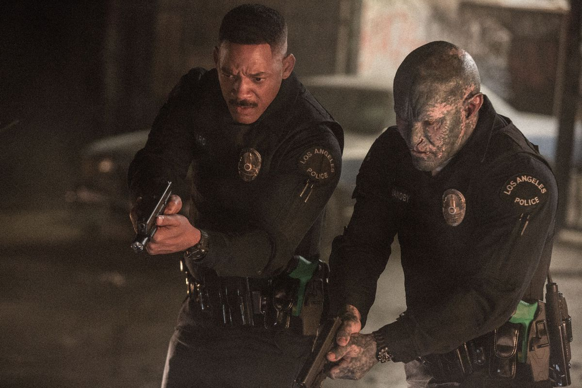 netflix will smith bright film review