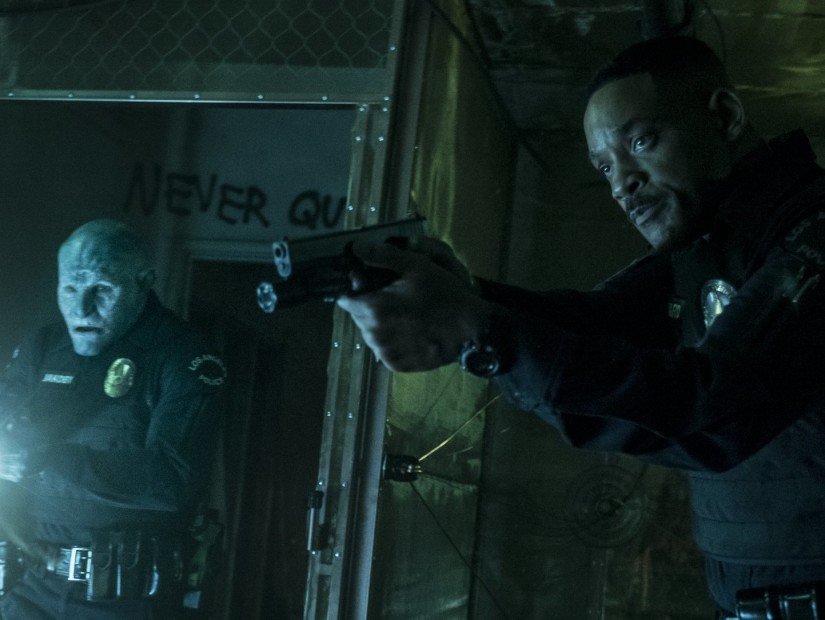 "Review: Will Smith's ""Bright"" Is Never Fun But Piles On The Sci-Fi Shootouts"