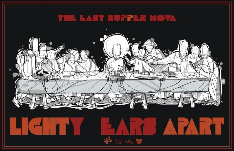 "Binary Star Releases Double LP ""LIGHTY EARS APART"""