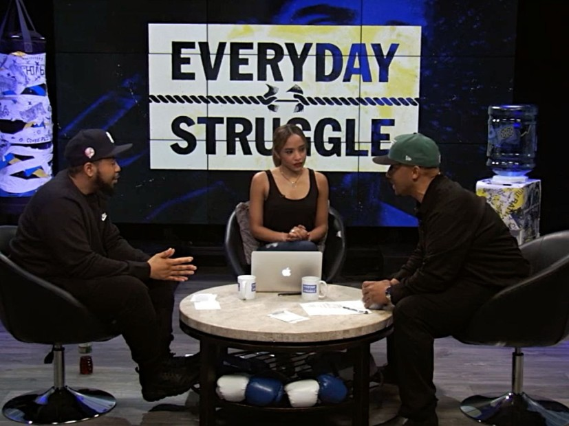 """Everyday Struggle's"" Nadeska Alexis Addresses Star's Sexist Comments"