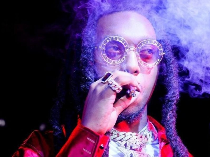 Twitter Thinks Takeoff Smokes Quavo & Offset On