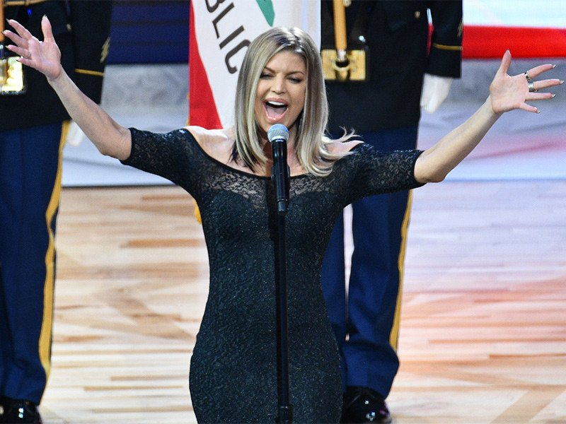Fergie Issues Mea Culpa For Awkward National Anthem Performance