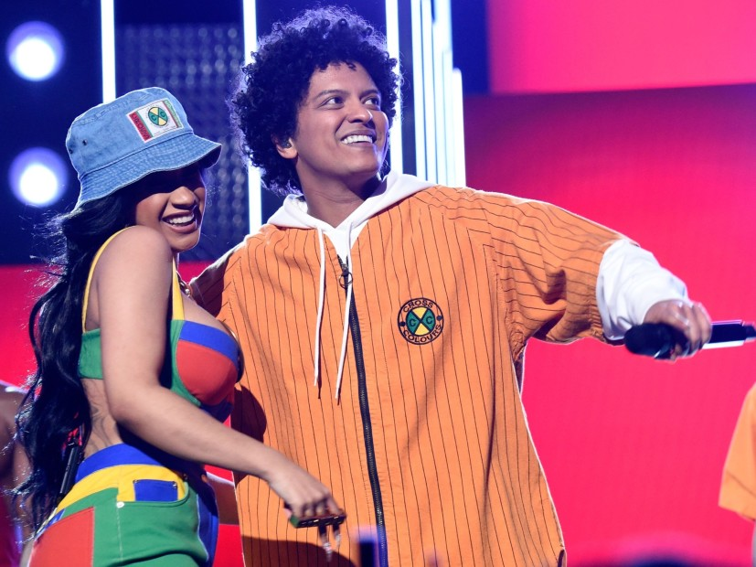 Bruno Mars Replaces Cardi B With R&B Stars Of Past & Present