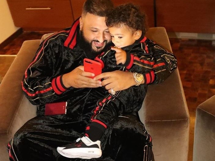 9e8a2dc58208 DJ Khaled s 1-Year-Old Son Asahd Lands Deal With Jordan