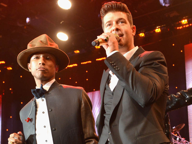 "Got To Give It Up: Pharrell & Robin Thicke Ordered To Pay Marvin Gaye's Family $5M In ""Blurred Lines"" Suit"