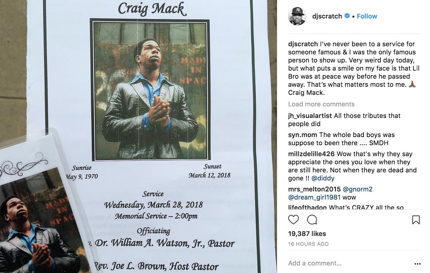Craig Mack DJ Scratch IG 1