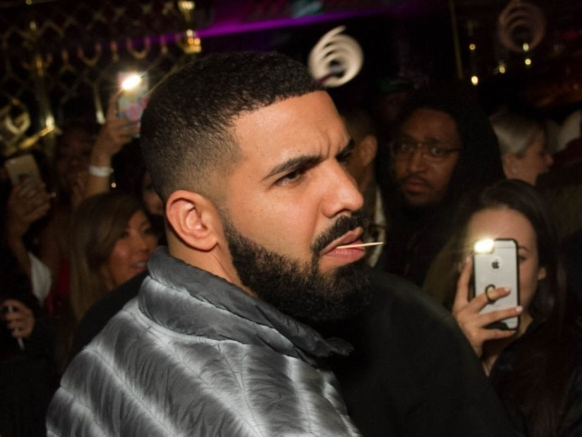 Drake Talks About New Album During Toronto Raptors Game