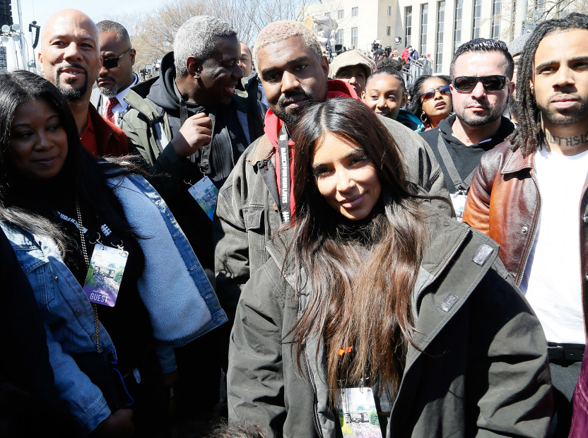 Kanye West, Common & Vic Mensa Represent At #MarchForOurLives Rally