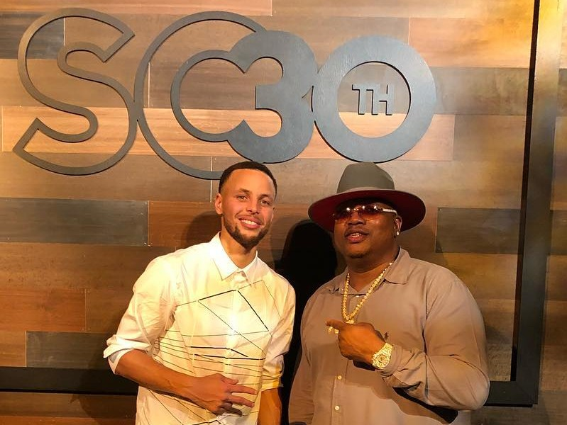 E 40 Dubs Steph Currys 30th Birthday One For The Books