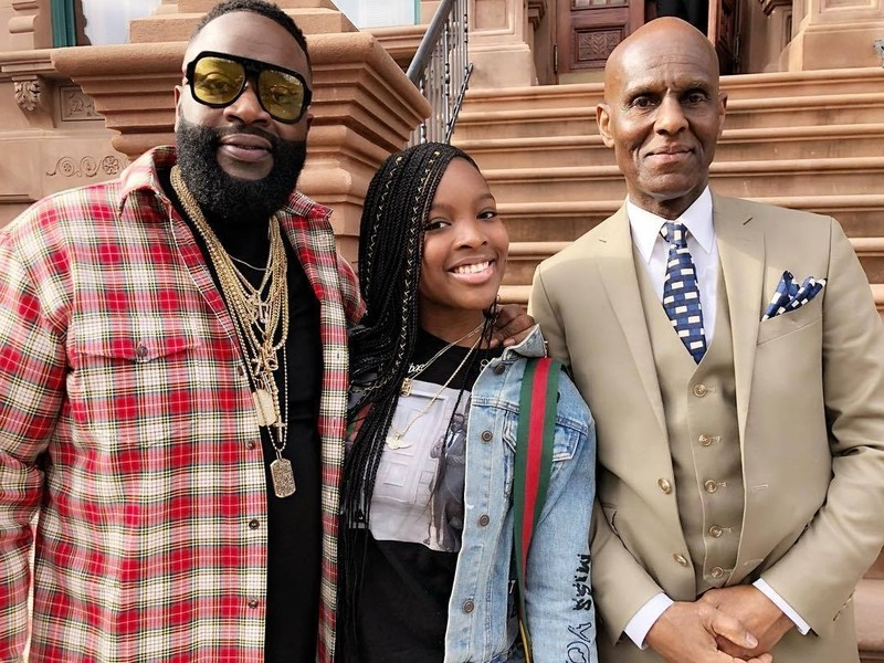 Rick Ross Gifts Birthday Bentley To His Daughter