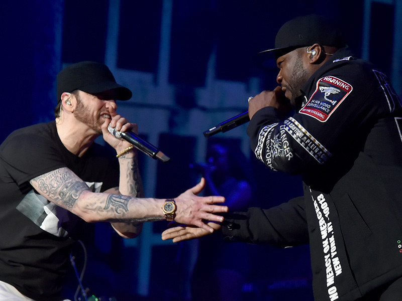"Eminem and 50 Cent Meet In Ed Sheeran's ""Remember The Name"" Single"