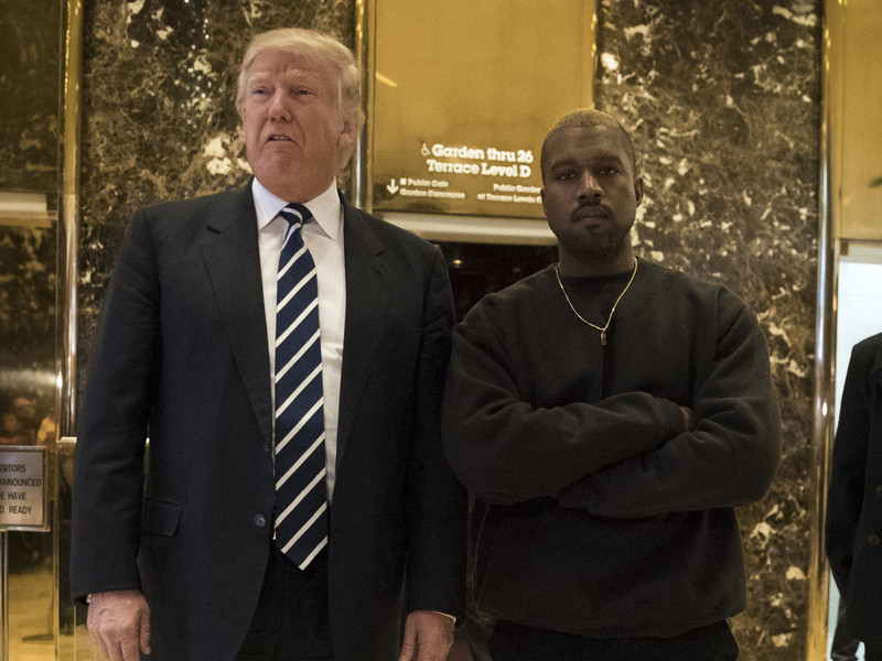 Right-Wing Yeezy: Kanye West Loves Donald Trump & Gets Embraced By Alex Jones