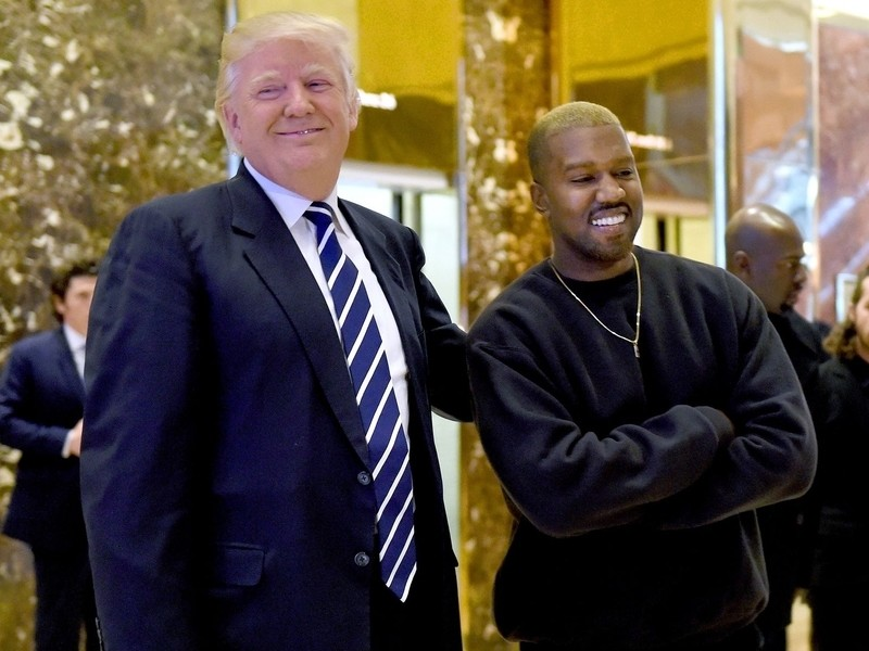 Kanye West Aligns Himself With Donald Trump & Says He Can't Be Managed