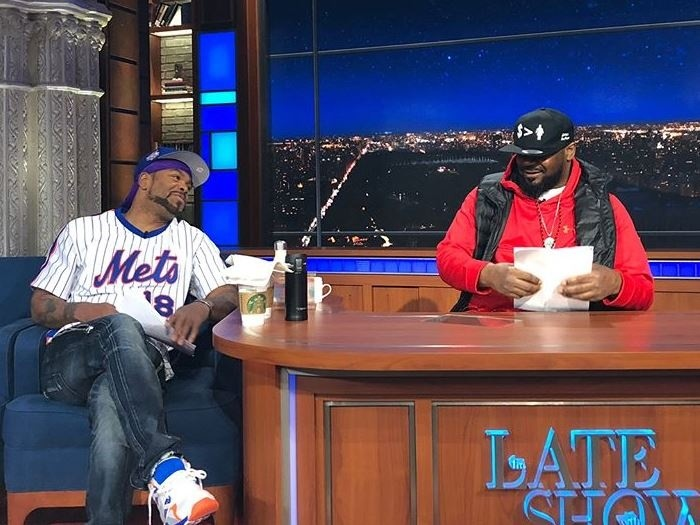 "Method Man & Ghostface Killah Take On Cookie Version Of Jeff Sessions On ""Colbert"""