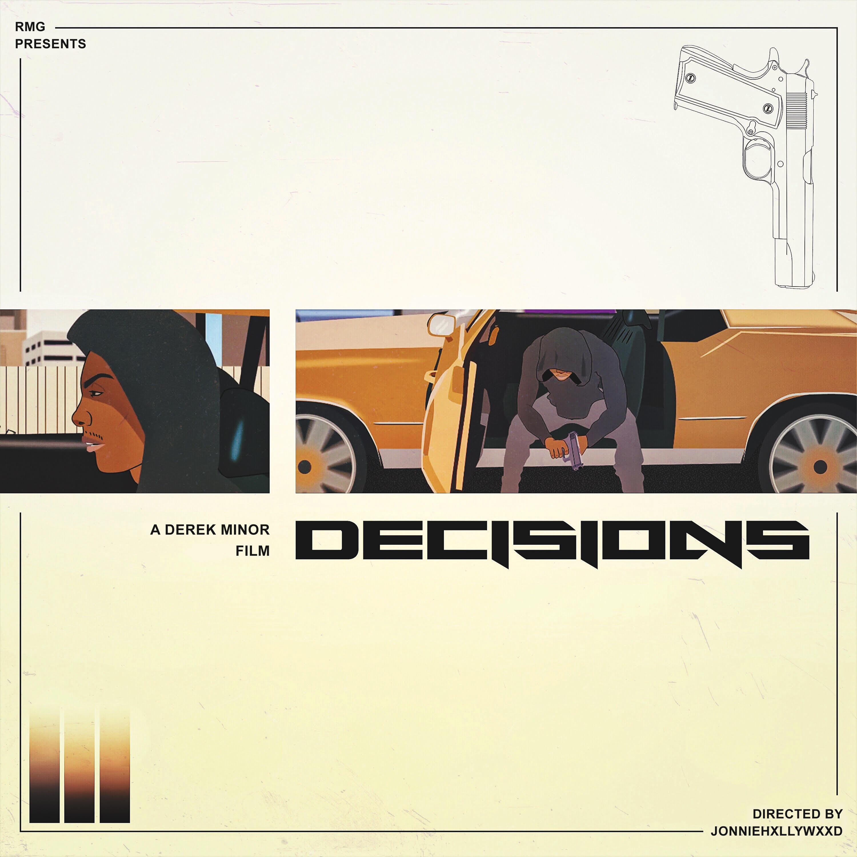 derek minor decisions artwork
