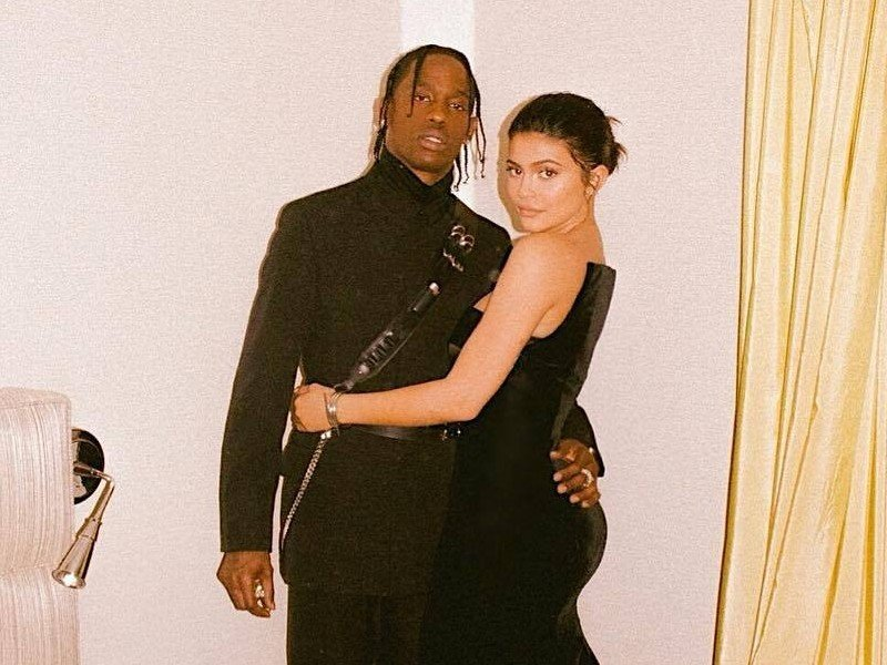 "Travis Scott Reportedly Gets ""Secret Service-Level"" Security For Kylie Jenner & Stormi"