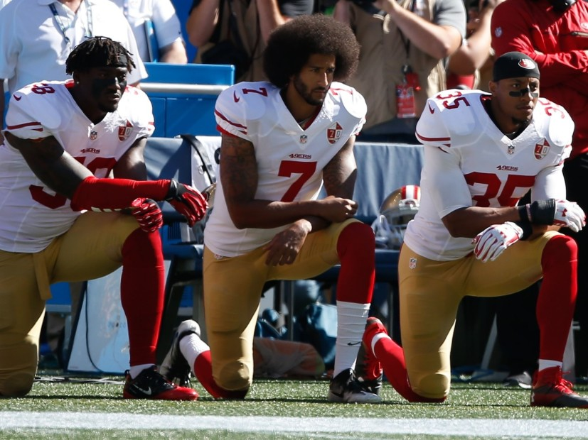Hip Hop Takes A Knee On NFL's New National Anthem Policy