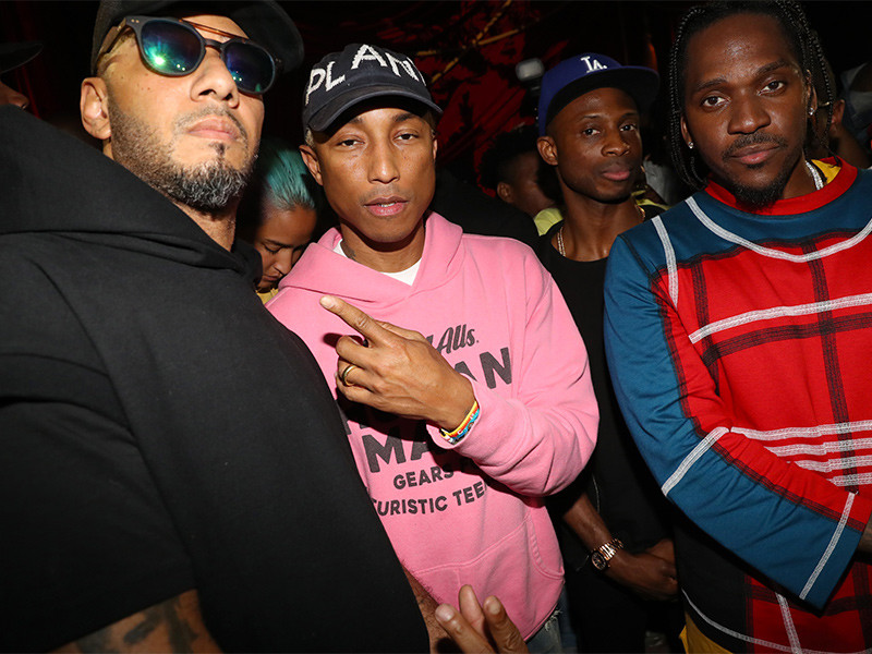 "Pusha T's ""DAYTONA"" Listening Party: Pharrell, Drake Subs & More Kanye West Poopity Scoop Bars"