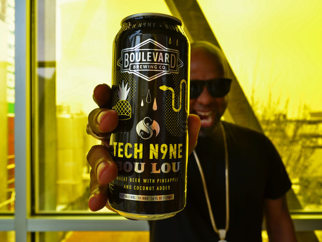 "Tech N9ne & Boulevard Brewing Introduce ""Bou Lou"" Craft Beer"