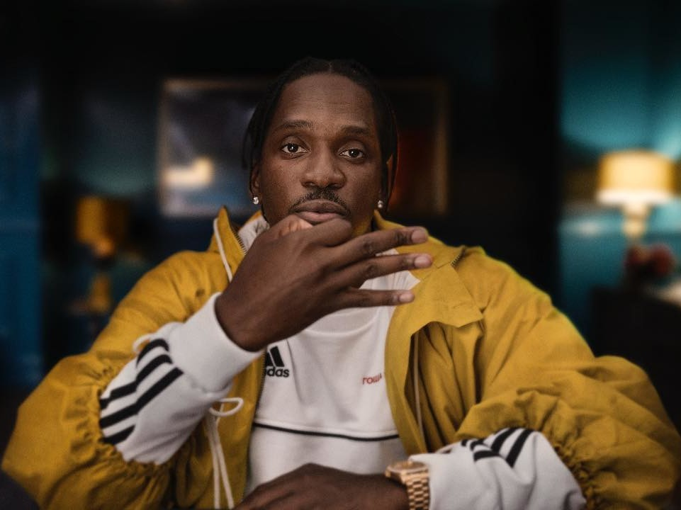 Pusha T Reveals His 1st Baby With Wife Virginia Williams Has Arrived