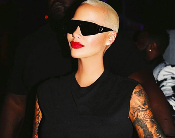 "Amber Rose On Lil Pump Dating Rumors: ""I'm Old Enough To Be His Mother"""