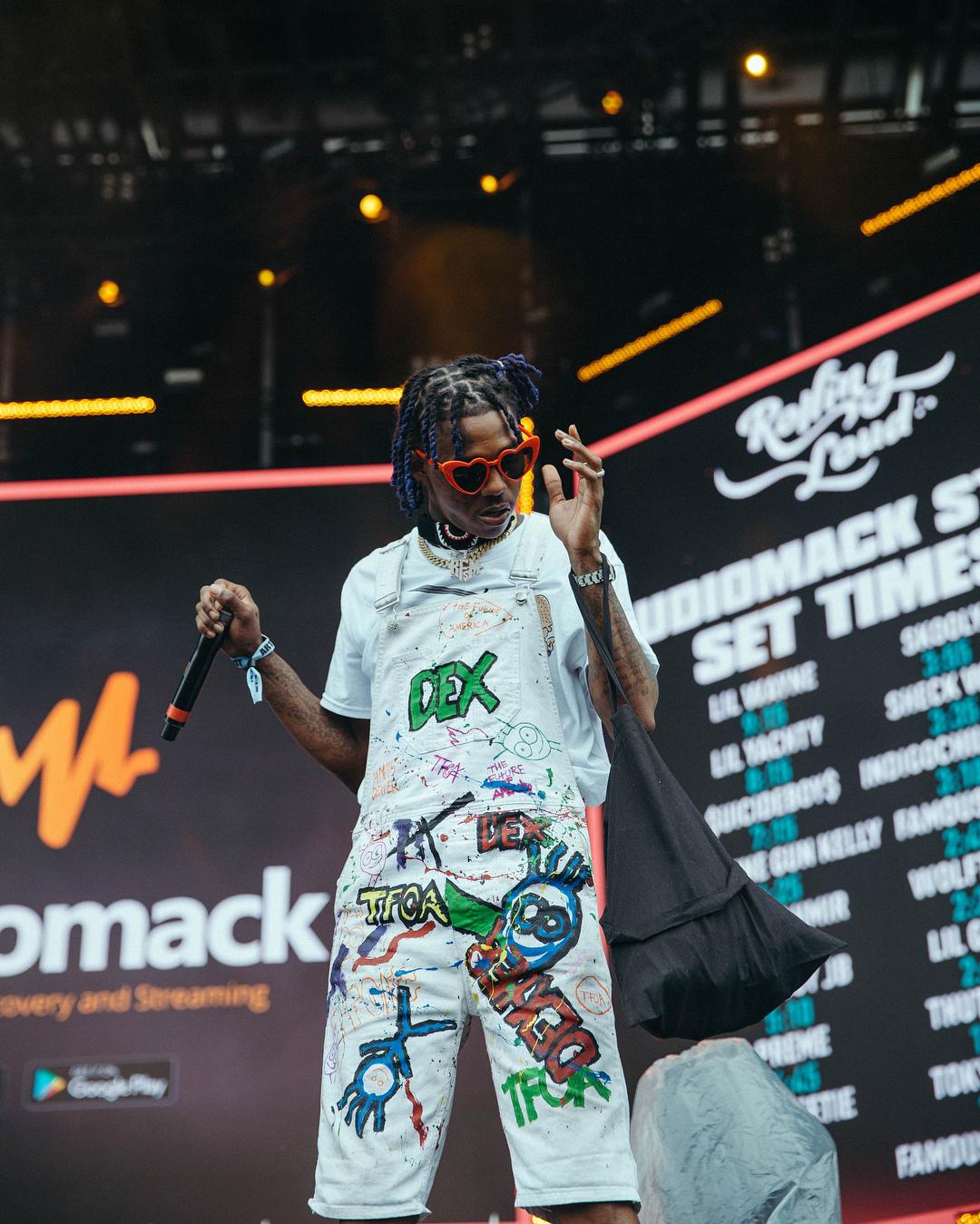 famous dex rolling loud 2018 day 3