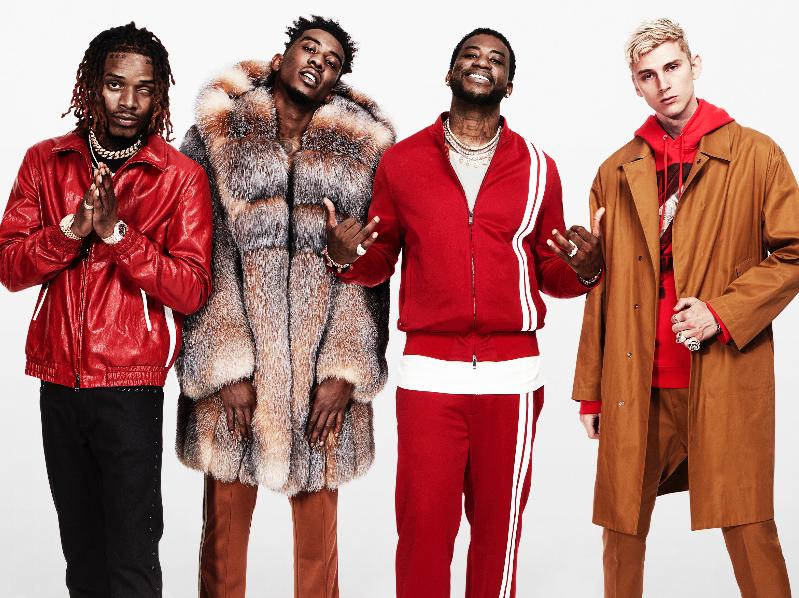 Gucci Mane, Desiigner, MGK & Fetty Wap Headlining Swisher Sweets Pack Tour Stops