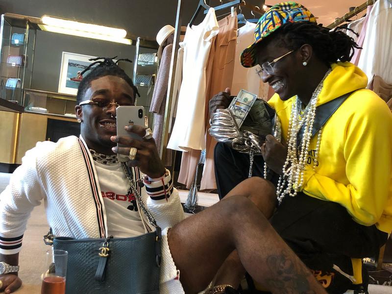 thug and uzi