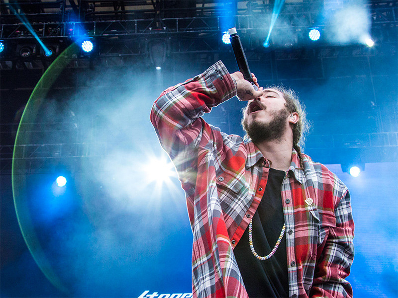 Post Malone Gets 2 New Face Tattoos