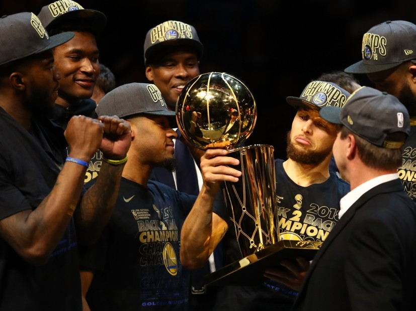 55aec42526d Hip Hop Rejoices After Golden State Warriors Sweep Cleveland Cavaliers In 2018  NBA Finals