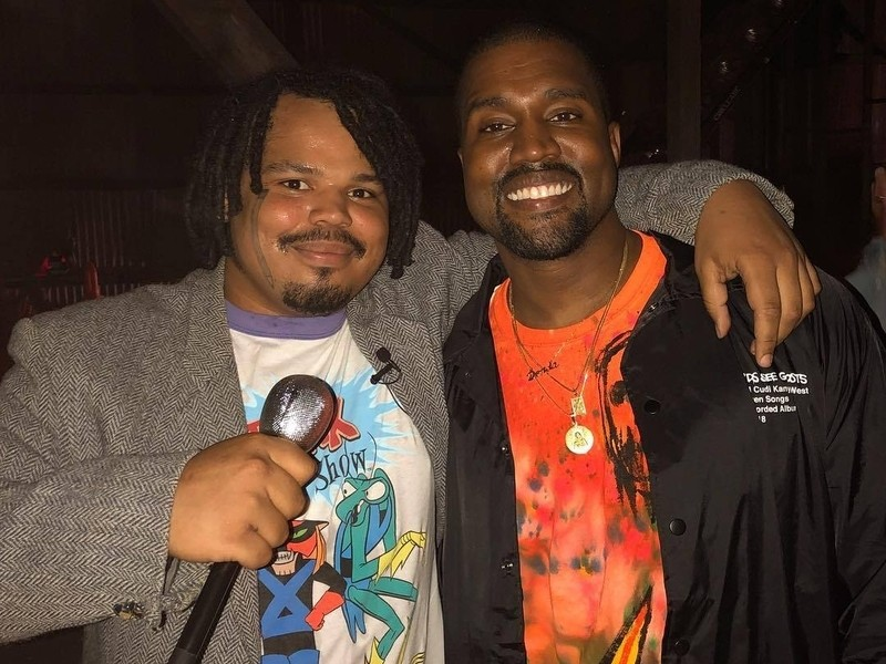 """Kanye West's """"ye"""" Listening Party Recap Finds Spaghetti Boys' Kerwin Frost Looking For Drugs"""